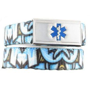Graffiti Medical ID Bracelet