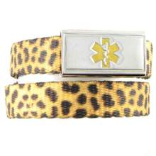Leopard Medical Alert Bands